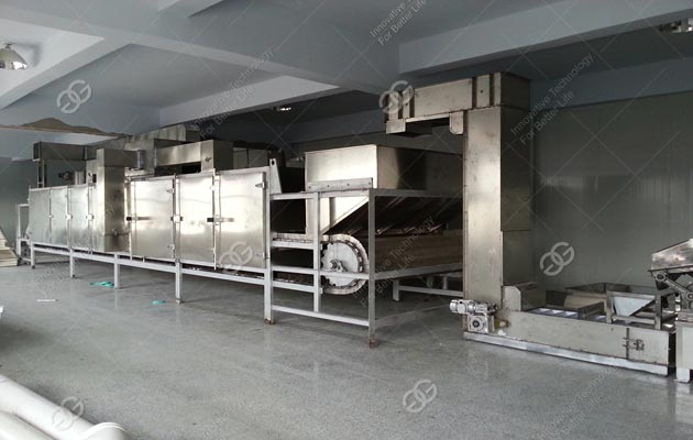 Continuous Peanuts Roasting Machine