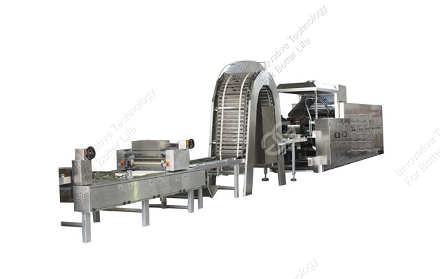<b>Wafer Biscuit Processing Line  </b>
