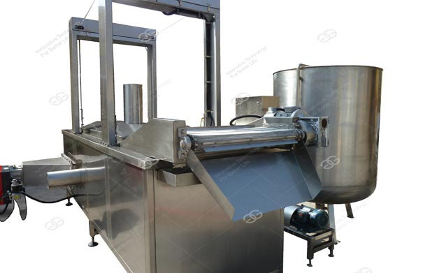 Gas Heating Chips Frying Machine
