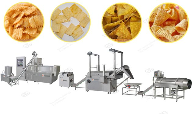 Multifunction Fried Snack Production Line