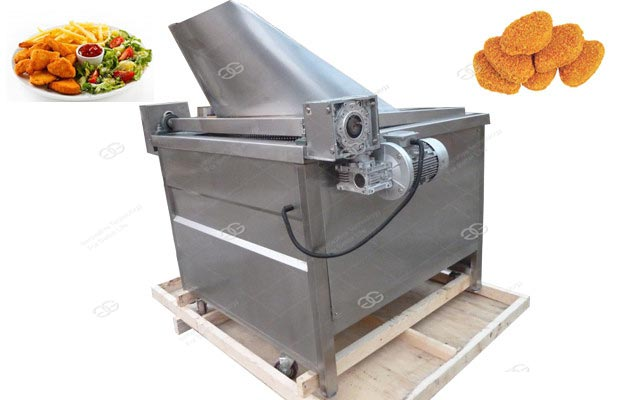 Automatic Oil-Water Mixed Frying Machine