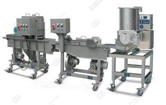 Automatic Fried Patty Production Line