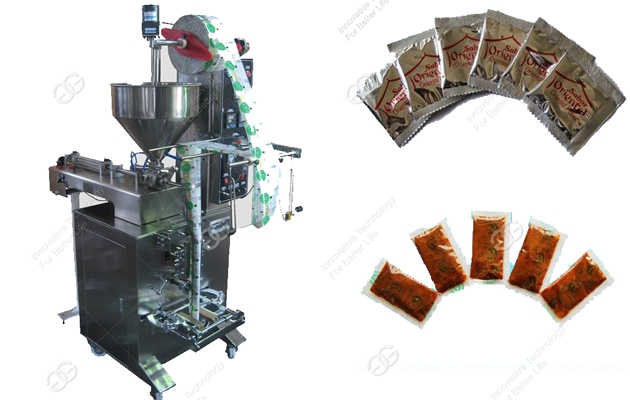 Instant Noodles Oil Sauce Packaging Machine