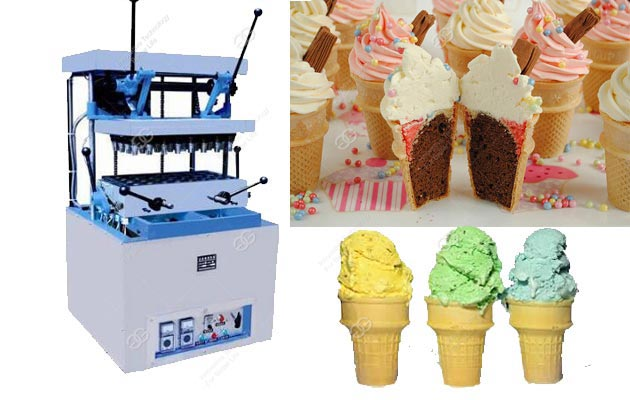 Small Type Wafer Cone Making Machine