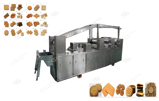 Sandwich biscuit making machine | Crisp Biscuit Production Line