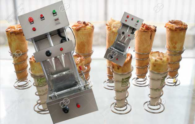 Pizza Cone Molding Machine|Pizza Cone Maker