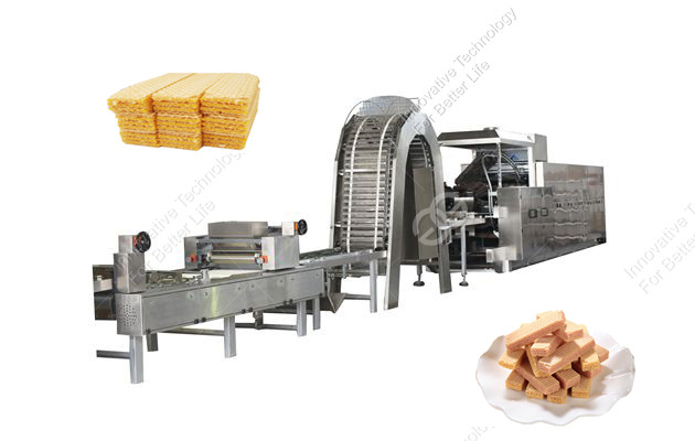 electric type wafer biscuit production line