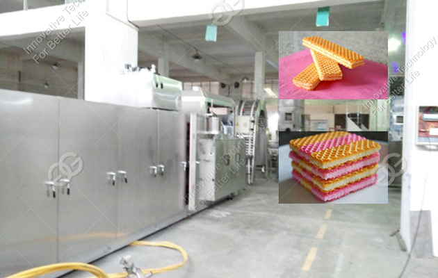 commecial wafer biscuit production machine