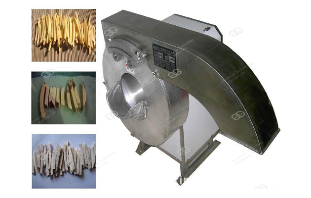 carrot strip cutting machine