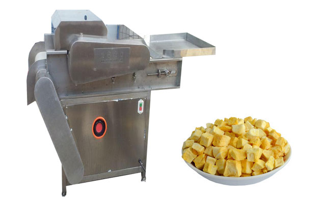 Commercial Dried Fruit Cube Cutting Machine