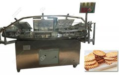 Waffle Cookies Machine Operate Proces